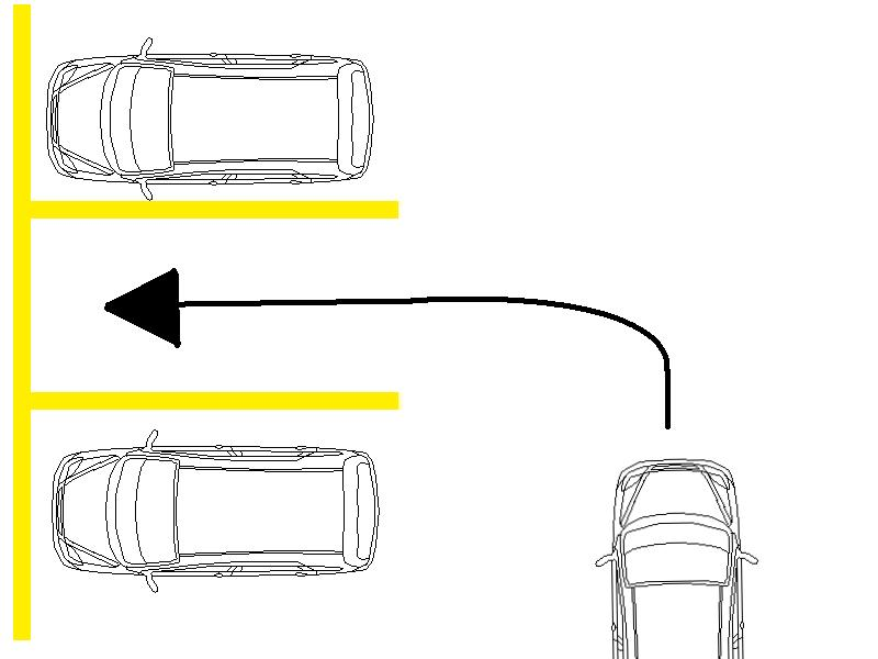 Backing Into A Parking Space Diagram Auto Electrical Wiring Diagram